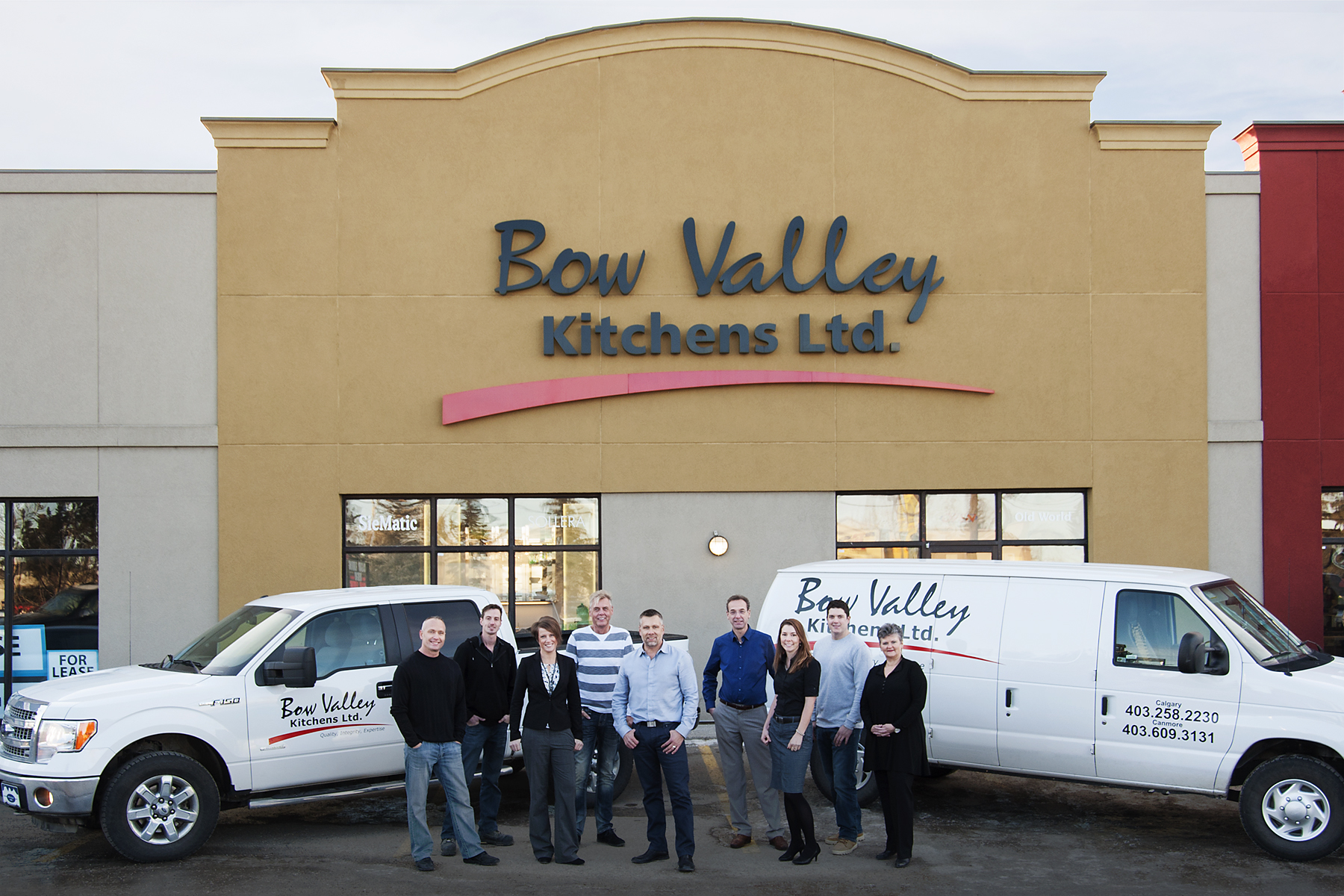 Corporate Portraits; Bow Valley Kitchen Ltd.