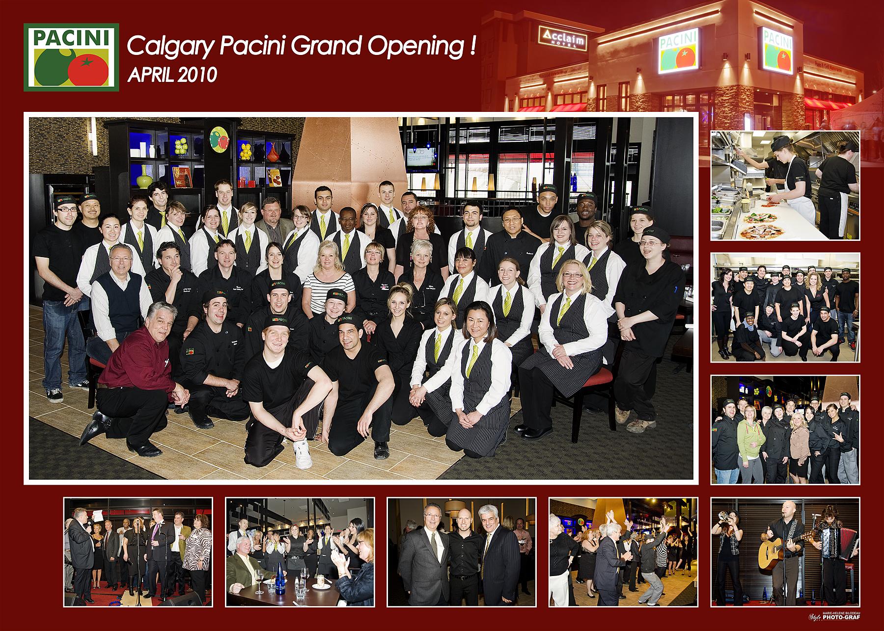 Calgary Pacini Opening 2010
