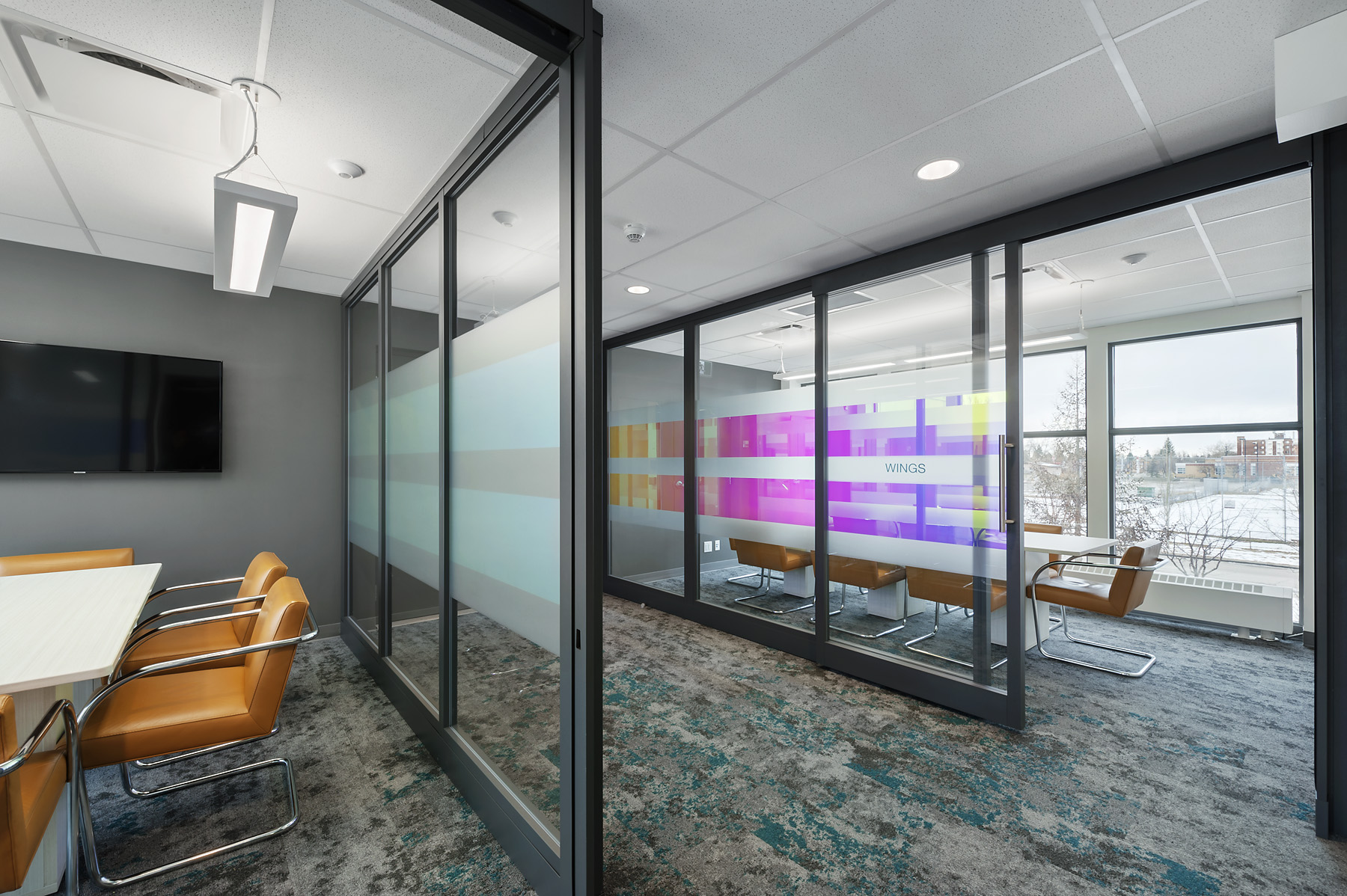 Design by Within Design Inc. Commercial Renovation by Ryan Murphy Construction Inc.