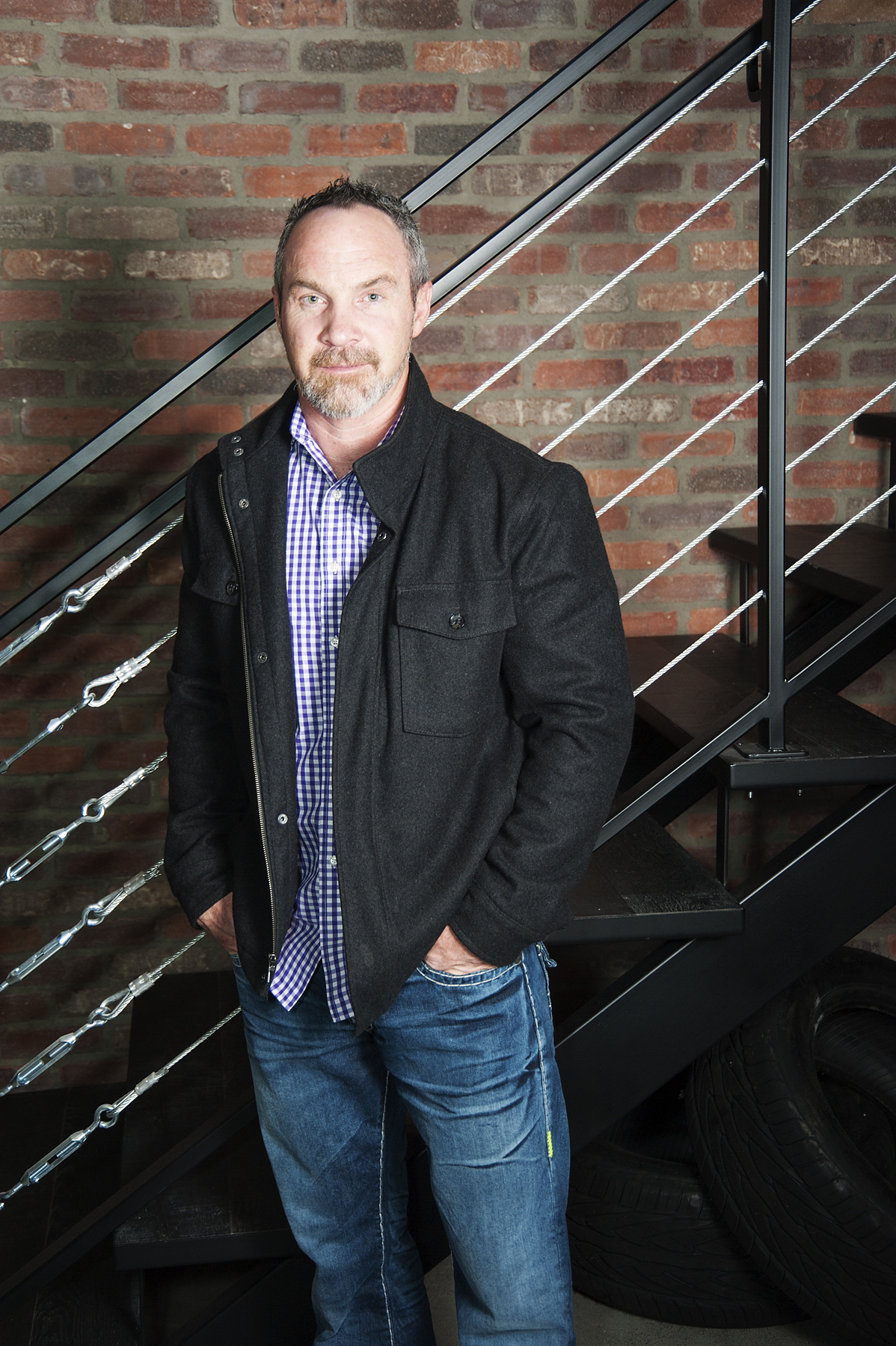 Corporate Portrait, Brent Fraser, Owner at RockCreek Builders