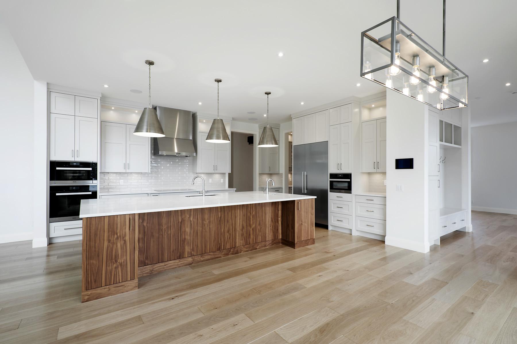 Interior Design by NuVo Interior Design; Luxury Custom Home by RockCreek Builders Inc.