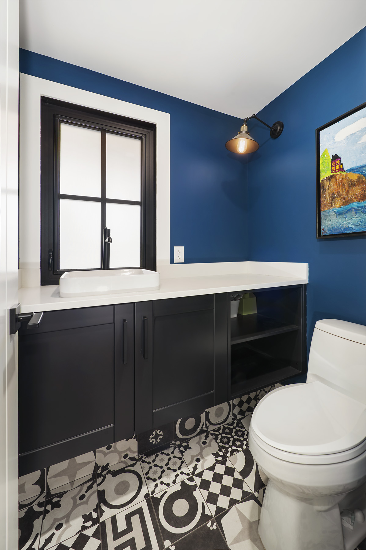 Interior Design by NuVo Interior Design; Custom Renovation by Loon Lake Custom Homes Inc.